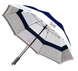 Manual Golf Super Wind-proof Umbrella