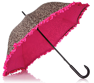 Double layers Umbrella with Frill