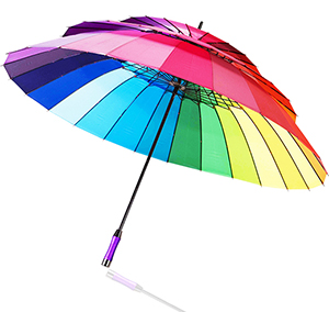 3 Layers Rainbow Umbrella