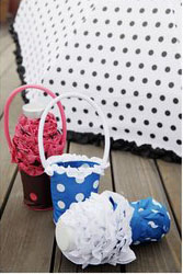 5 Folded Umbrella with Frill bag