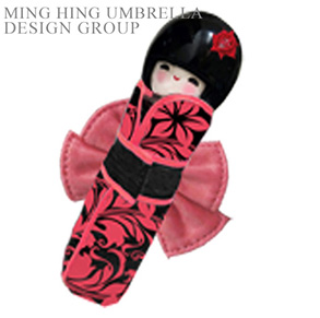 5 Folding Umbrella with doll