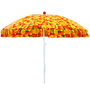 Heat Transfer Beach Umbrella