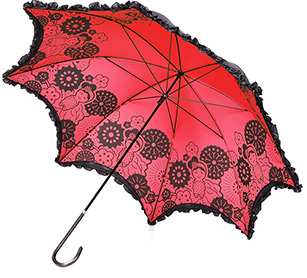 2 Layers Manual Straight Umbrella
