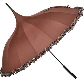 Pagoda Umbrella with Frill